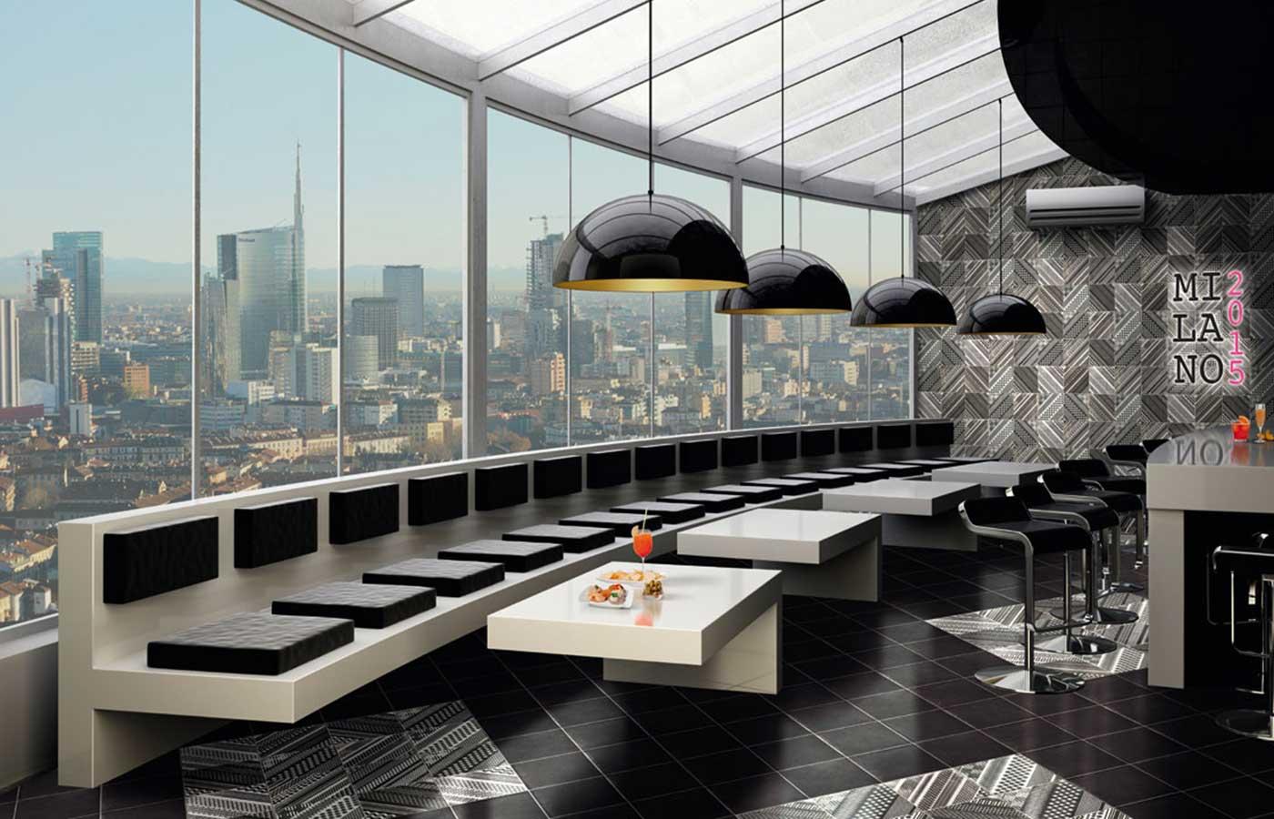 Milano2015: Progetto Nero, Zona San Babila, Zona Brera 20x20
