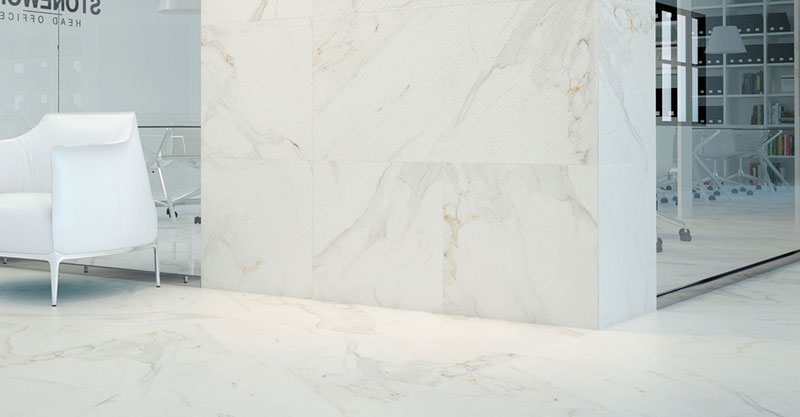 calacata porcelain tiles range - contact us or download their brochure for the full range
